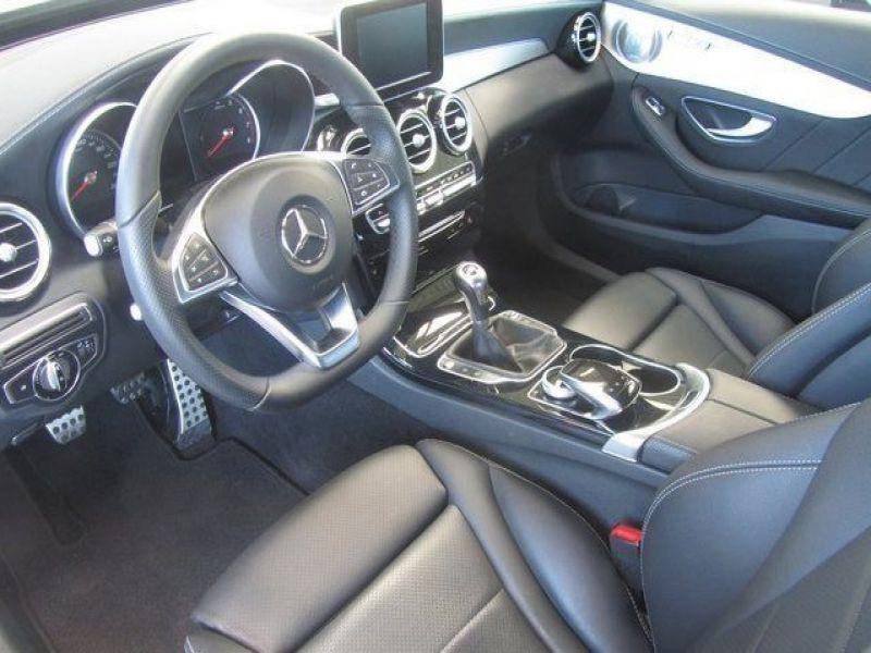 Mercedes Classe C 200 200 AMG Blanc occasion à Beaupuy