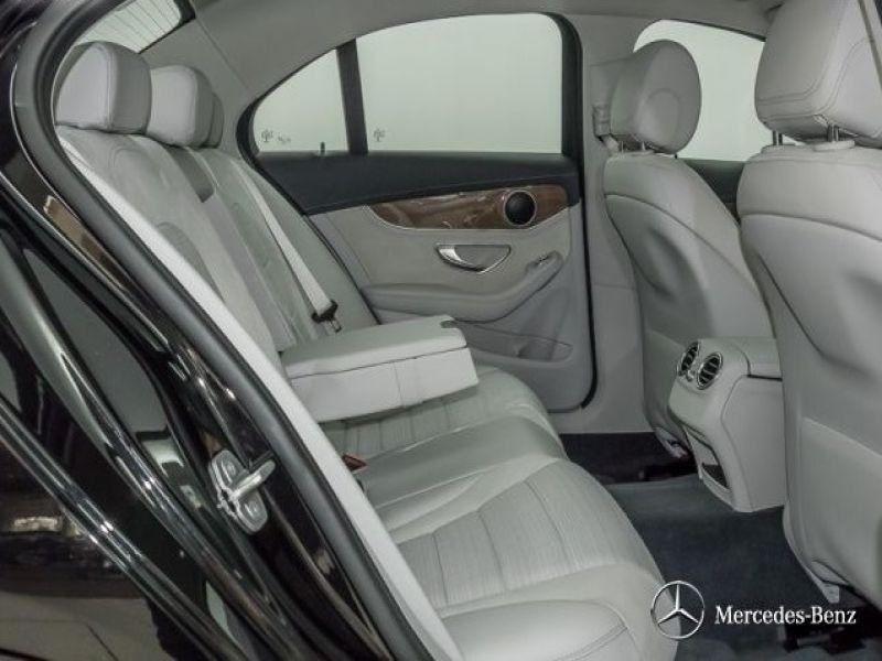 Mercedes Classe C 200 200 AMG Noir occasion à Beaupuy - photo n°4