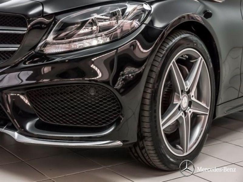 Mercedes Classe C 200 200 AMG Noir occasion à Beaupuy - photo n°9