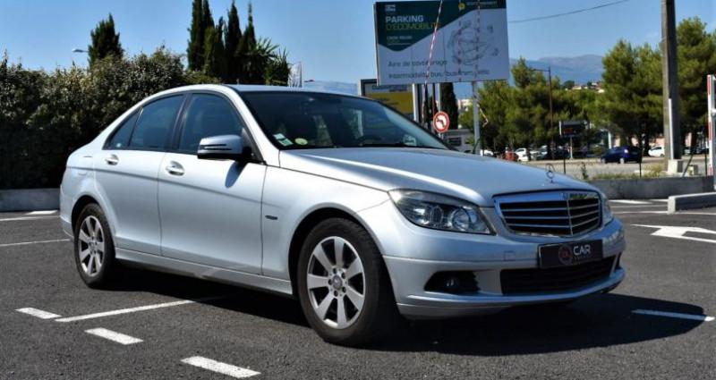 Mercedes Classe C 200 200 CDI 136 CH GARANTIE Gris occasion à ANTIBES - photo n°3