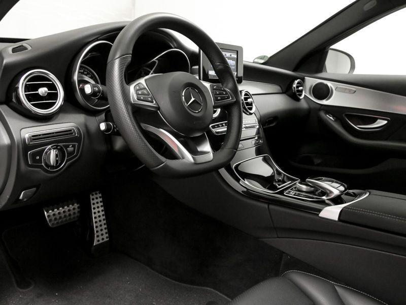 Mercedes Classe C 200 200 CDI AMG Blanc occasion à Beaupuy - photo n°6