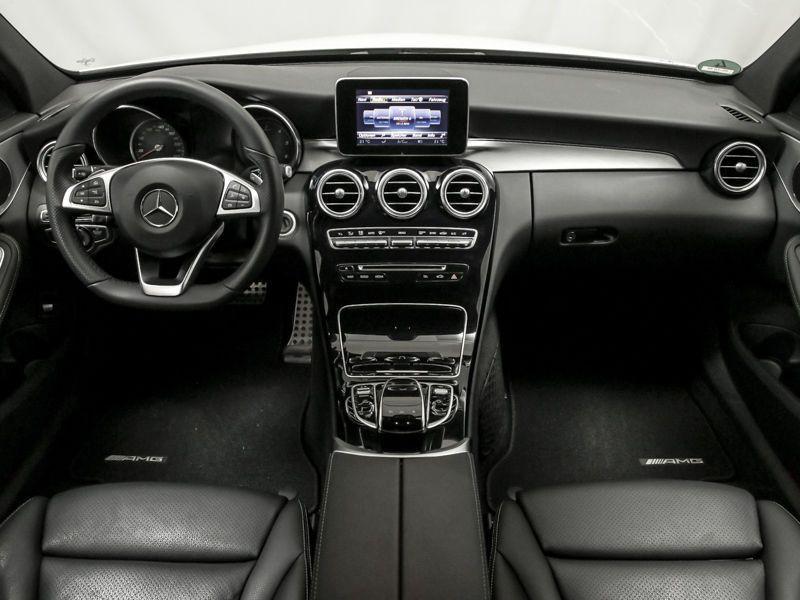 Mercedes Classe C 200 200 CDI AMG Blanc occasion à Beaupuy