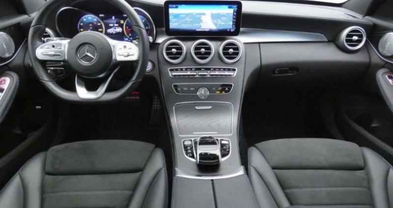 Mercedes Classe C 200 200 d 160ch AMG Line 9G-Tronic Argent occasion à Belleville Sur Vie - photo n°3