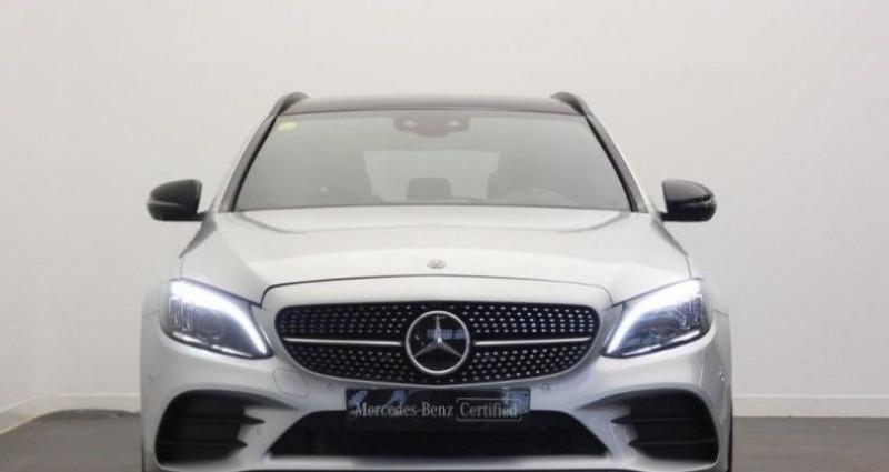 Mercedes Classe C 200 200 d 160ch AMG Line 9G-Tronic Argent occasion à Belleville Sur Vie - photo n°6
