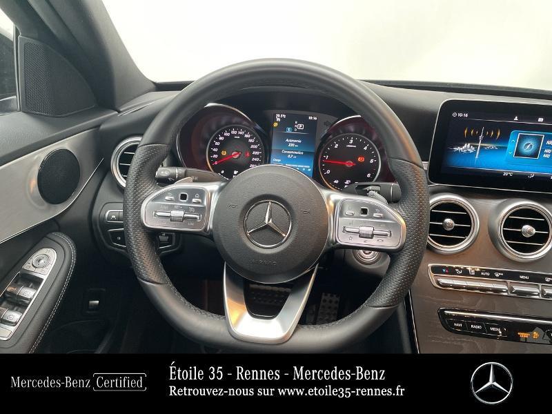 Mercedes Classe C 200 200 d 160ch AMG Line 9G-Tronic Noir occasion à SAINT-GREGOIRE - photo n°7