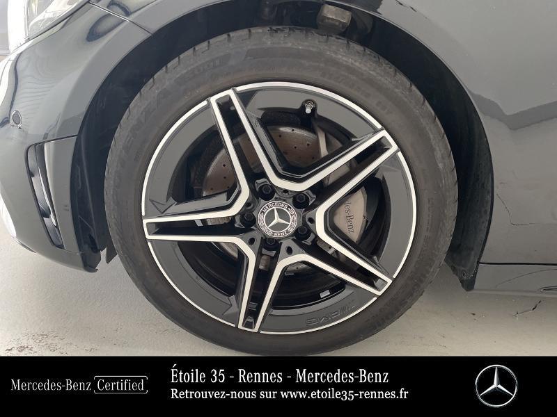 Mercedes Classe C 200 200 d 160ch AMG Line 9G-Tronic Noir occasion à SAINT-GREGOIRE - photo n°13