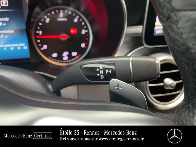Mercedes Classe C 200 200 d 160ch AMG Line 9G-Tronic Noir occasion à SAINT-GREGOIRE - photo n°10