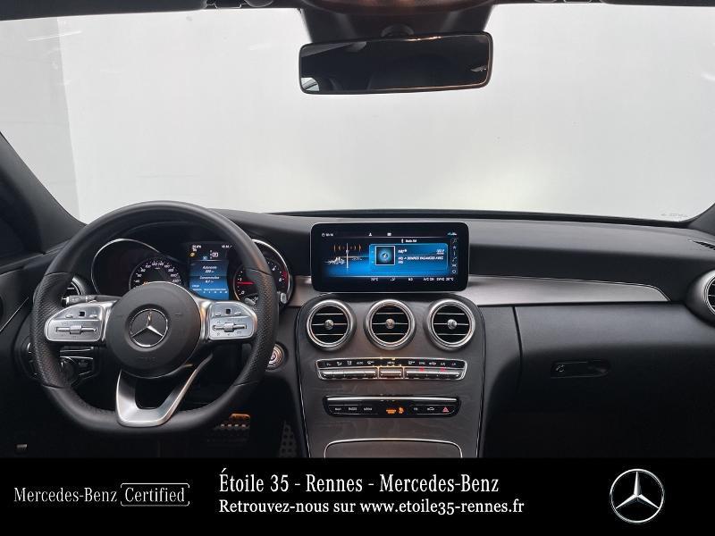 Mercedes Classe C 200 200 d 160ch AMG Line 9G-Tronic Noir occasion à SAINT-GREGOIRE - photo n°6
