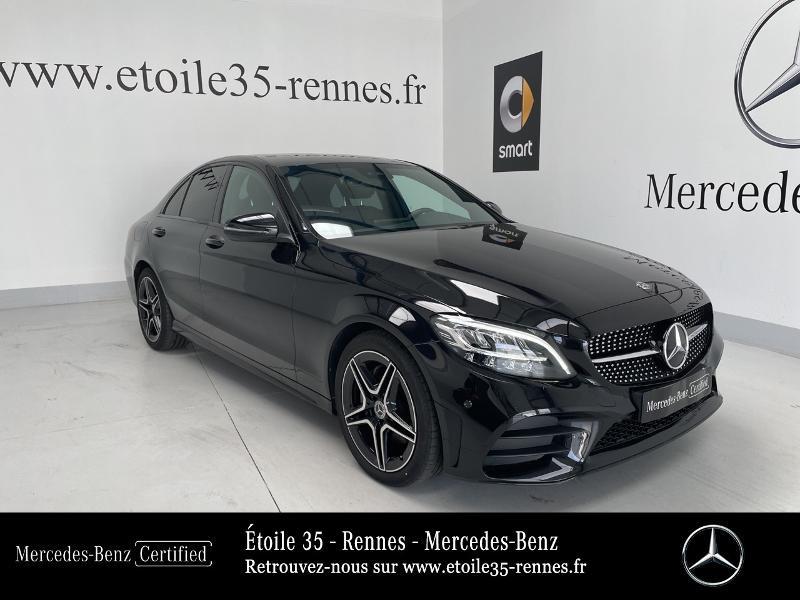Mercedes Classe C 200 200 d 160ch AMG Line 9G-Tronic Noir occasion à SAINT-GREGOIRE