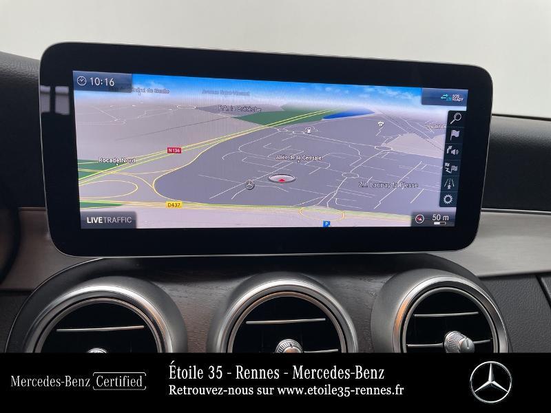 Mercedes Classe C 200 200 d 160ch AMG Line 9G-Tronic Noir occasion à SAINT-GREGOIRE - photo n°8