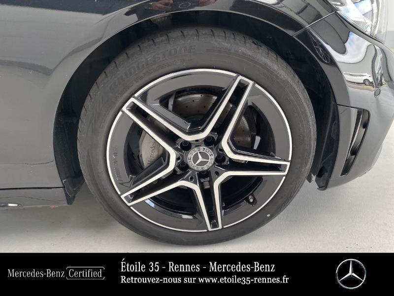 Mercedes Classe C 200 200 d 160ch AMG Line 9G-Tronic Noir occasion à SAINT-GREGOIRE - photo n°16