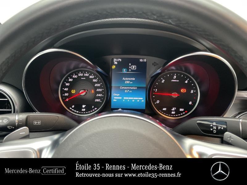 Mercedes Classe C 200 200 d 160ch AMG Line 9G-Tronic Noir occasion à SAINT-GREGOIRE - photo n°9