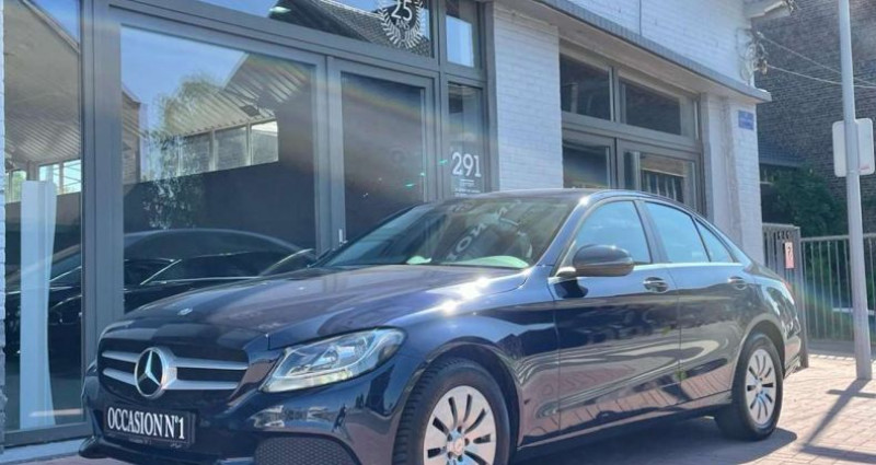 Mercedes Classe C 200 200 d - GPS - Radar Arr - Full cuir Bleu occasion à Châtelet - photo n°3