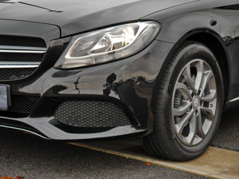 Mercedes Classe C 200 200 Noir occasion à Beaupuy - photo n°8