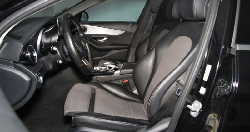 Mercedes Classe C 200 200d tronic plus 136hp iii Noir occasion à Neuilly Sur Seine - photo n°6