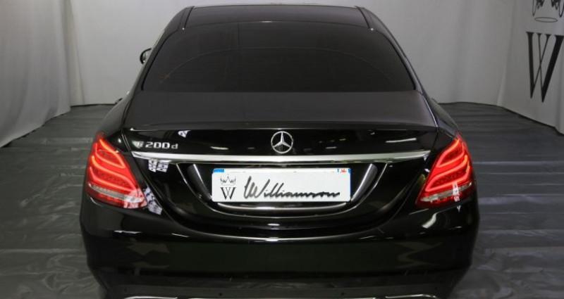 Mercedes Classe C 200 200d tronic plus 136hp iii Noir occasion à Neuilly Sur Seine - photo n°4