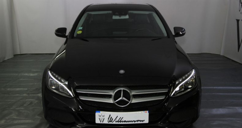 Mercedes Classe C 200 200d tronic plus 136hp iii Noir occasion à Neuilly Sur Seine - photo n°2