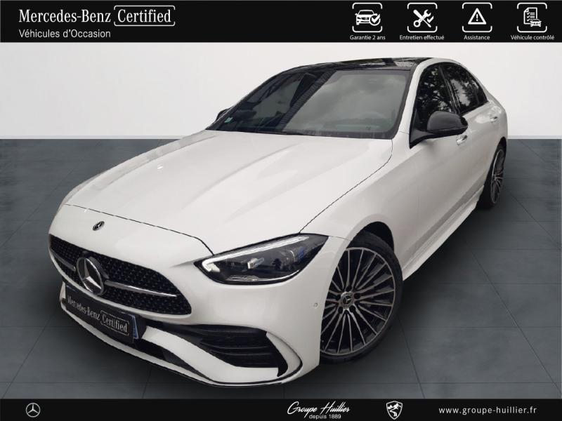 Mercedes Classe C 200 220 d 200ch AMG Line 9G-Tronic Blanc occasion à Gières