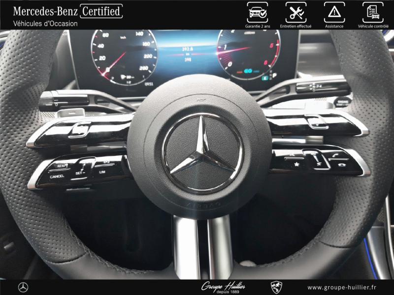 Mercedes Classe C 200 220 d 200ch AMG Line 9G-Tronic Blanc occasion à Gières - photo n°9