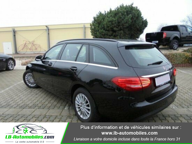 Mercedes Classe C 220 220 BlueTEC Noir occasion à Beaupuy - photo n°3