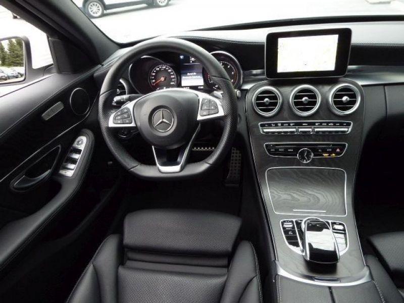 Mercedes Classe C 220 220 CDI AMG Blanc occasion à Beaupuy