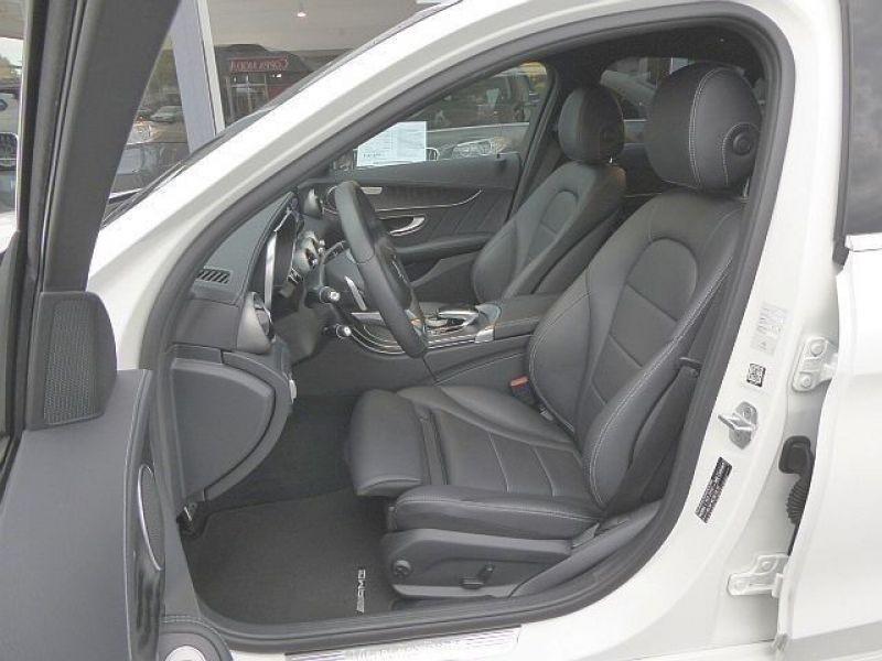 Mercedes Classe C 220 220 CDI AMG Blanc occasion à Beaupuy - photo n°3
