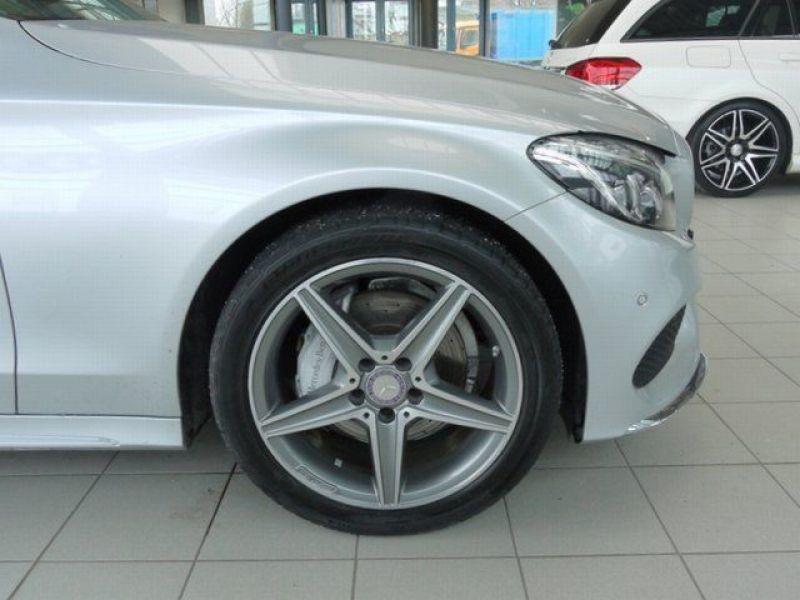 Mercedes Classe C 220 220 CDI AMG Argent occasion à Beaupuy - photo n°7