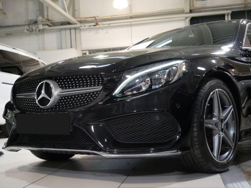 Mercedes Classe C 220 220 CDI Coupé Noir occasion à Beaupuy - photo n°9