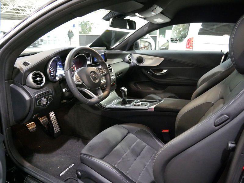 Mercedes Classe C 220 220 CDI Coupé Noir occasion à Beaupuy - photo n°4