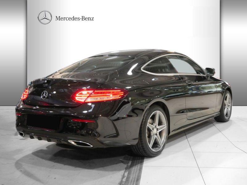 Mercedes Classe C 220 220 CDI Coupé Noir occasion à Beaupuy - photo n°3