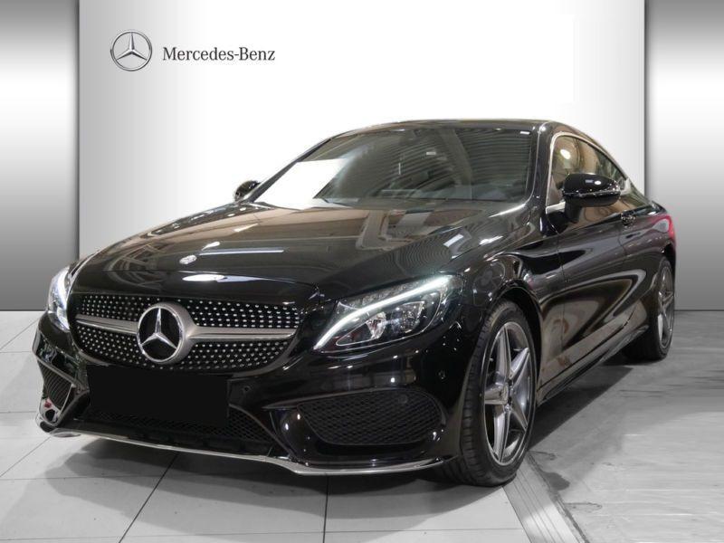 Mercedes Classe C 220 220 CDI Coupé Noir occasion à Beaupuy