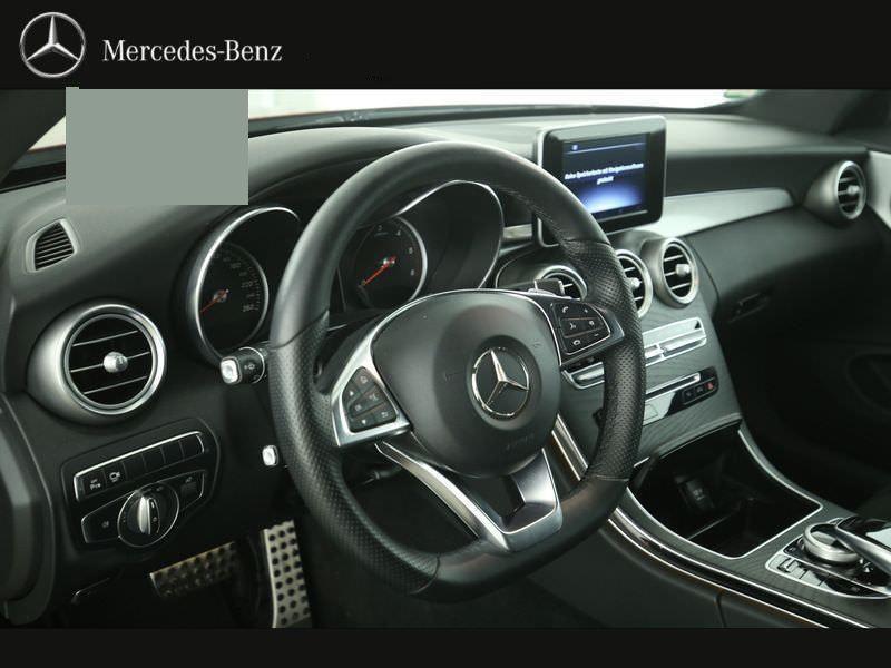 Mercedes Classe C 220 220 CDI Coupé Rouge occasion à Beaupuy - photo n°2