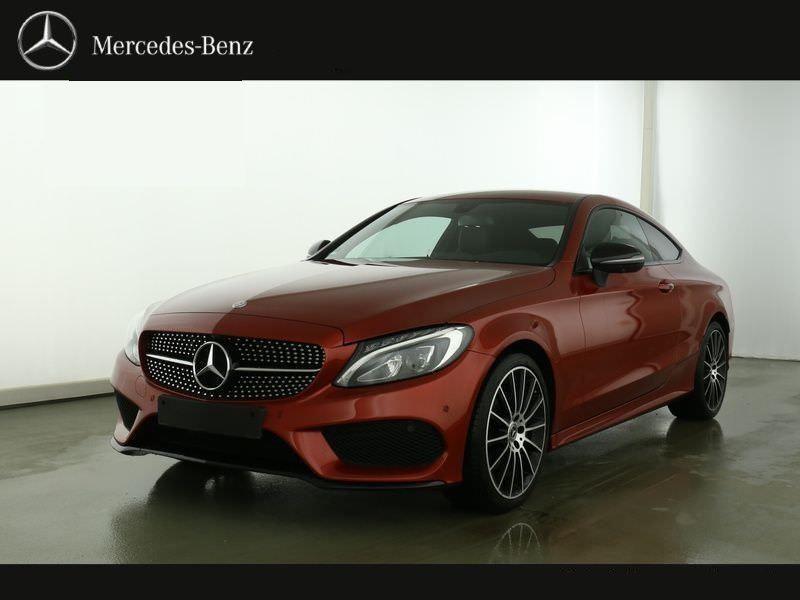 Mercedes Classe C 220 220 CDI Coupé Rouge occasion à Beaupuy