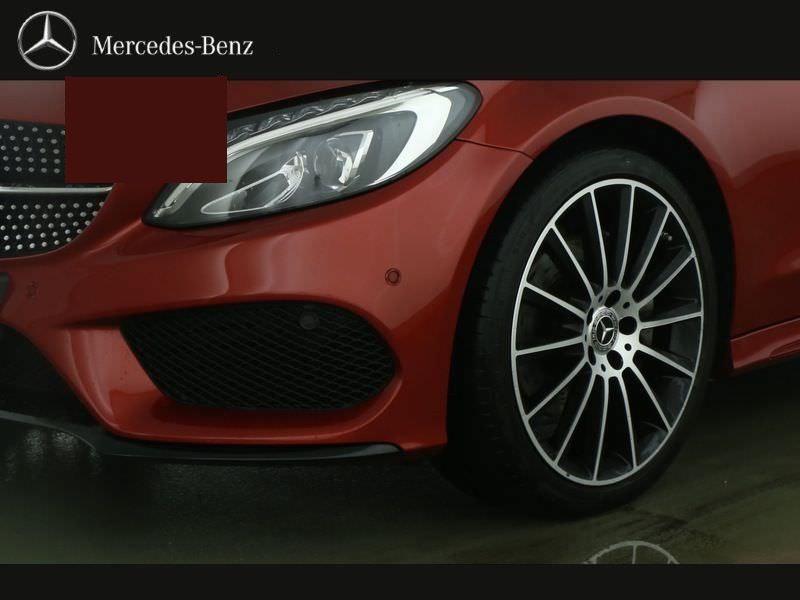 Mercedes Classe C 220 220 CDI Coupé Rouge occasion à Beaupuy - photo n°7