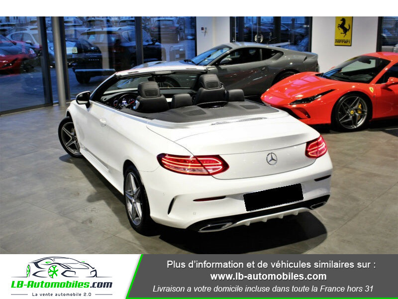 Mercedes Classe C 220 220 D AMG LINE 9G-TRONIC Blanc occasion à Beaupuy - photo n°3