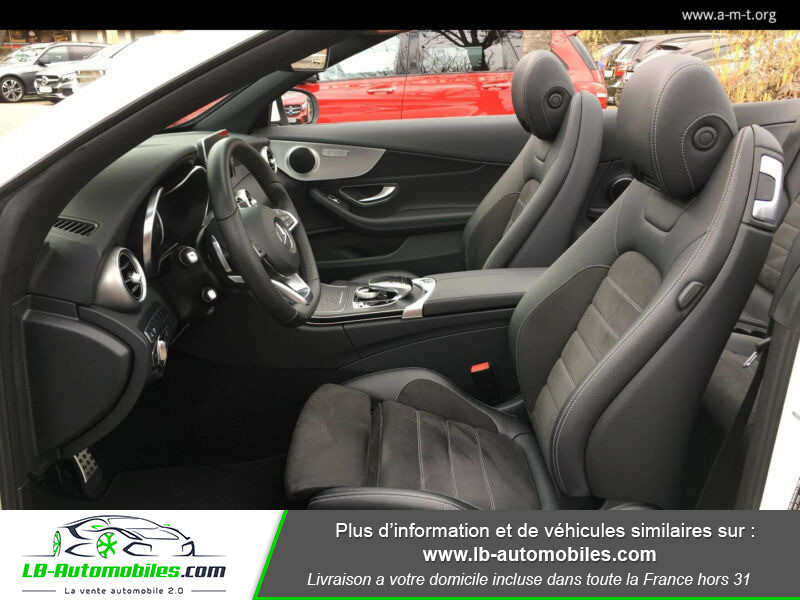 Mercedes Classe C 220 220 D AMG LINE 9G-TRONIC Blanc occasion à Beaupuy - photo n°4