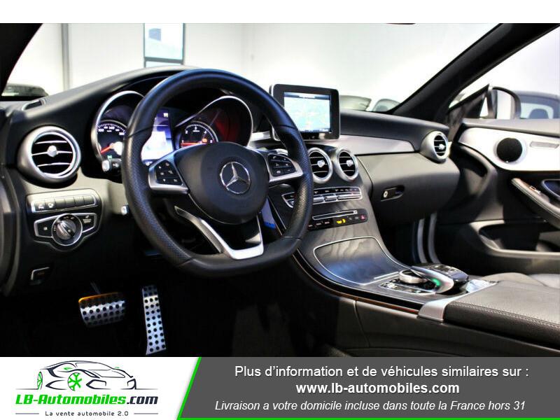 Mercedes Classe C 220 220 D AMG LINE 9G-TRONIC Blanc occasion à Beaupuy - photo n°2