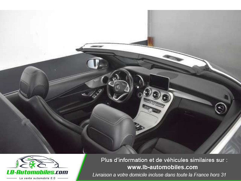 Mercedes Classe C 220 220 D AMG LINE 9G-TRONIC Gris occasion à Beaupuy - photo n°2