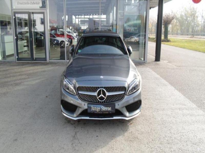 Mercedes Classe C 220 220 D Cabriolet Gris occasion à Beaupuy - photo n°8