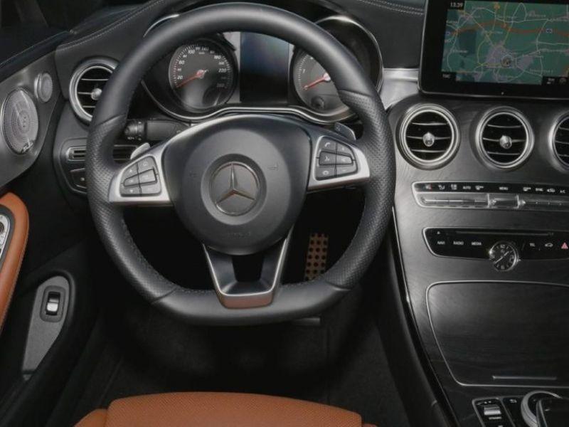 Mercedes Classe C 220 220 D Cabriolet Noir occasion à Beaupuy - photo n°7