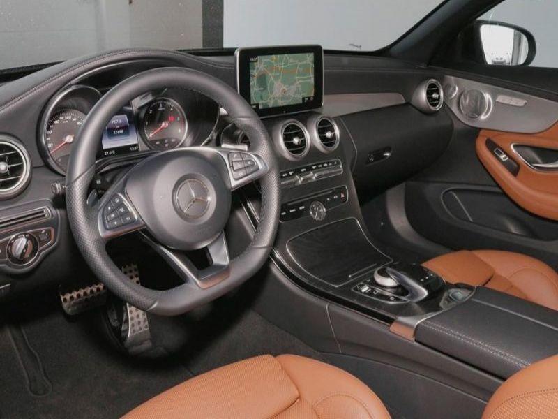 Mercedes Classe C 220 220 D Cabriolet Noir occasion à Beaupuy - photo n°2