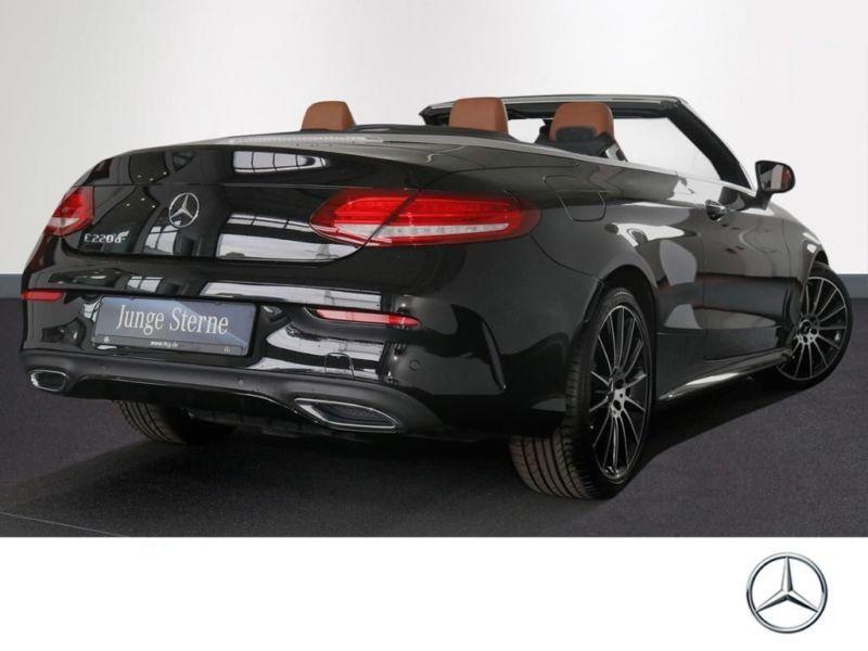 Mercedes Classe C 220 220 D Cabriolet Noir occasion à Beaupuy - photo n°3