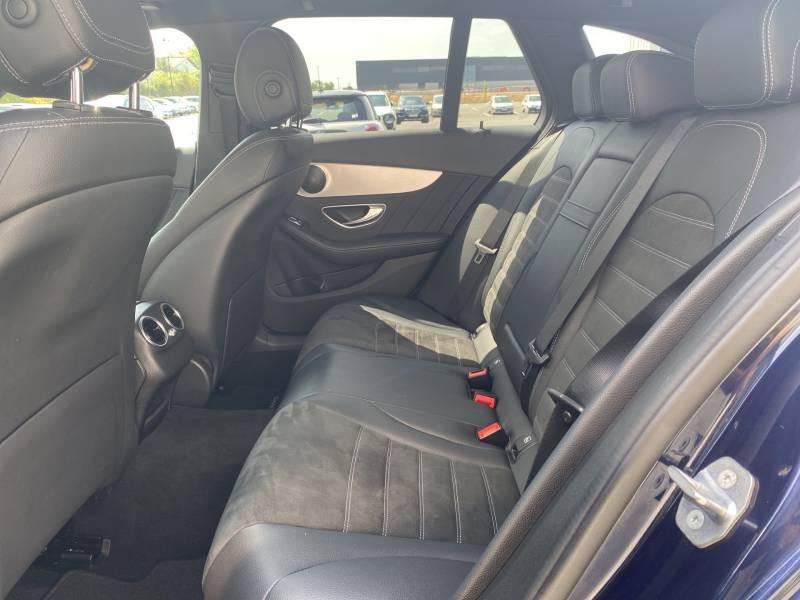 Mercedes Classe C 220 Break 220 d 9G-Tronic 4Matic AMG Line Bleu occasion à Brive-la-Gaillarde - photo n°15