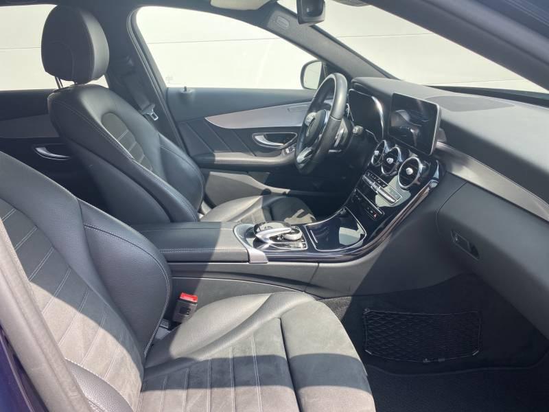 Mercedes Classe C 220 Break 220 d 9G-Tronic 4Matic AMG Line Bleu occasion à Brive-la-Gaillarde - photo n°17