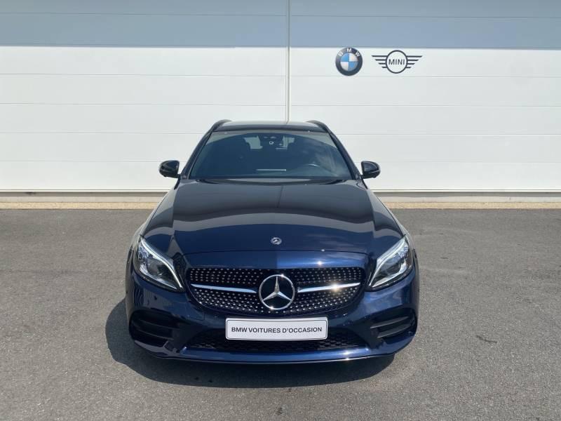 Mercedes Classe C 220 Break 220 d 9G-Tronic 4Matic AMG Line Bleu occasion à Brive-la-Gaillarde - photo n°20