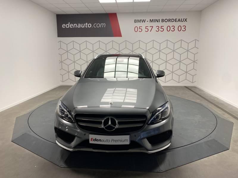Mercedes Classe C 220 Break 220 d 9G-Tronic Fascination Gris occasion à Lormont - photo n°6