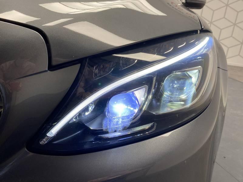Mercedes Classe C 220 Break 220 d 9G-Tronic Fascination Gris occasion à Lormont - photo n°19