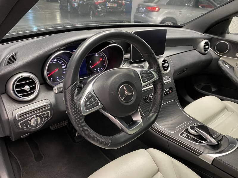 Mercedes Classe C 220 Break 220 d 9G-Tronic Fascination Gris occasion à Lormont - photo n°11
