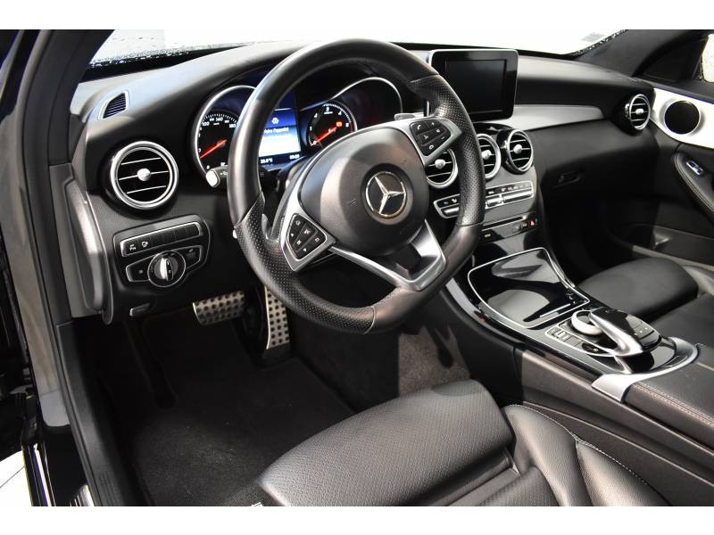 Mercedes Classe C 220 Break 220 d 9G-Tronic Sportline Noir occasion à Limoges - photo n°6
