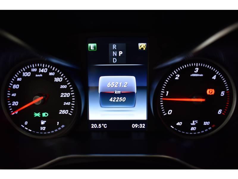 Mercedes Classe C 220 Break 220 d 9G-Tronic Sportline Noir occasion à Limoges - photo n°20